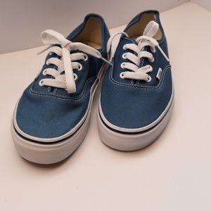 Blue  Low Top Vans